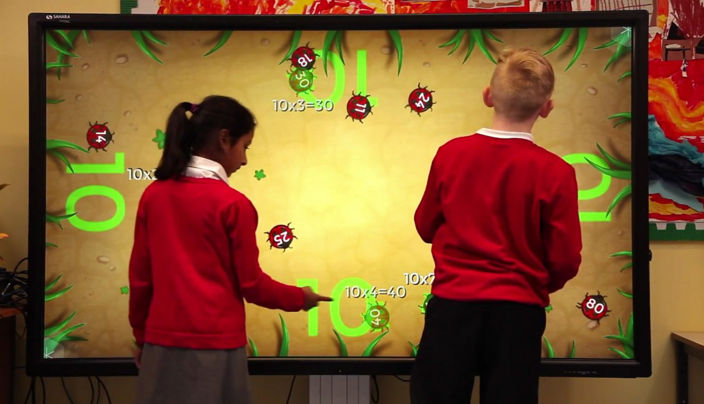 primary school ICT Clevertouch screen