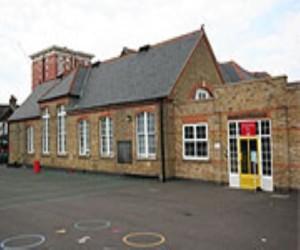 Woodside school outside image