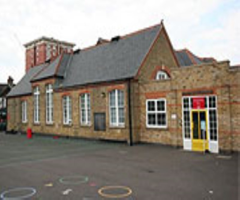 Woodside school outside image