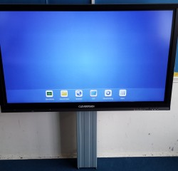 Clevertouch with AV Plate