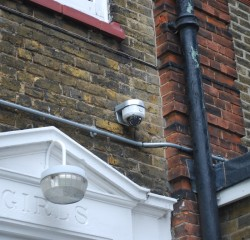 cctv installed outside home