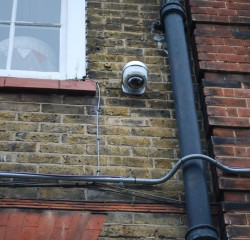 CCTV Camera installed outside house