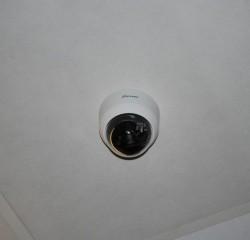 CCTV camera installed