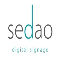 Sedao digital signage logo