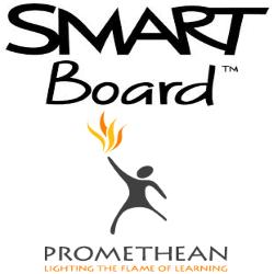 large smart board promethean logo